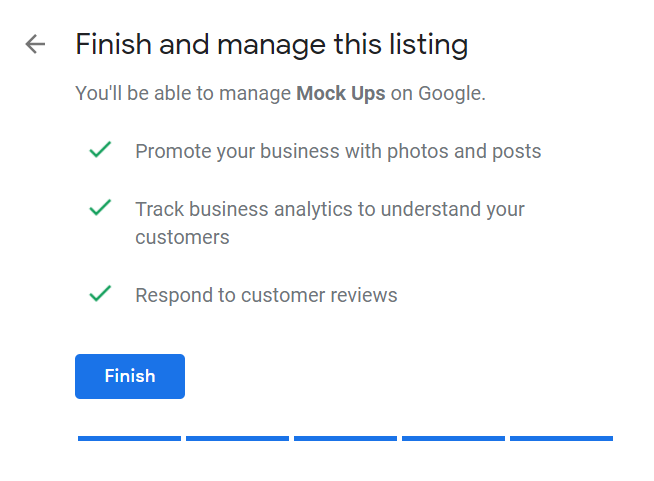How to Set Up Your Google My Business Account 11 Finish and Manage Listing