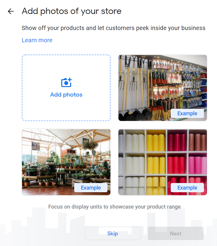 How to Set Up Your Google My Business Account 16 Add Photos of Your Store