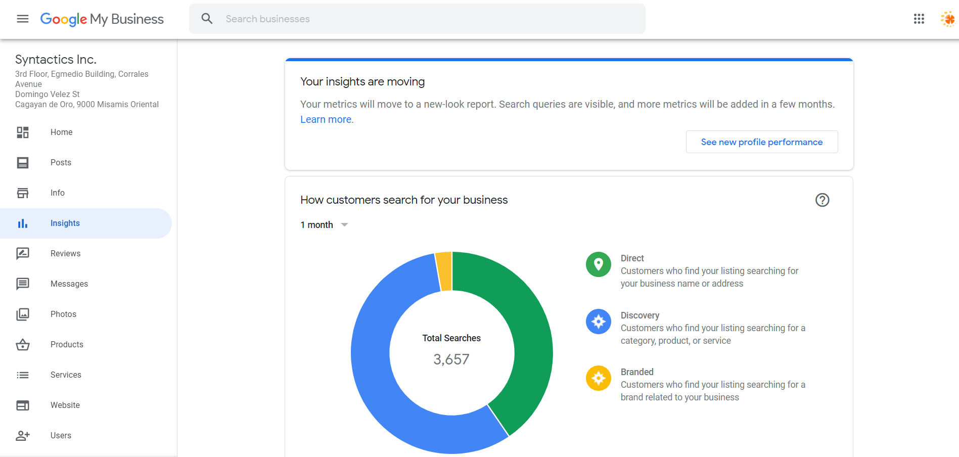 How to Set Up Your Google My Business Account 22 Insights Tab Preview