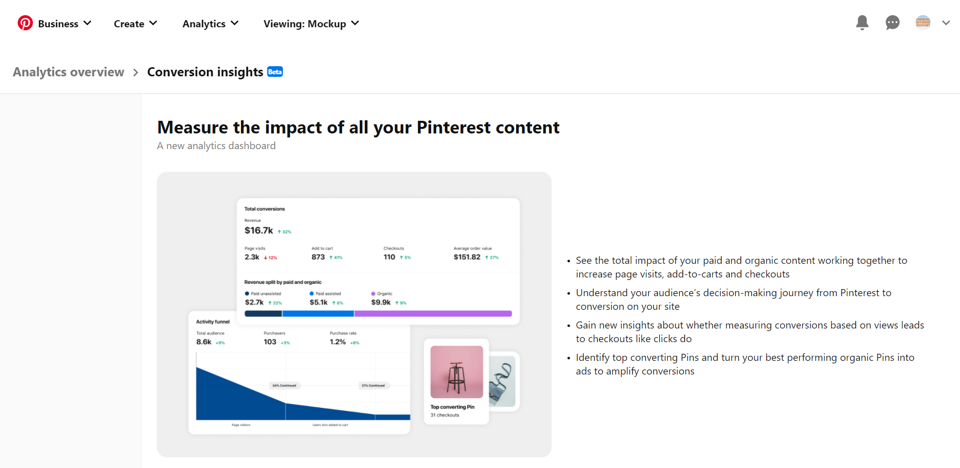 Why You Need a Pinterest Virtual Assistant Conversion Insights