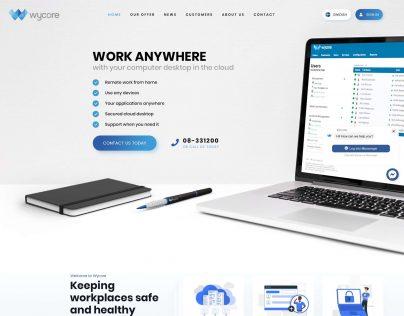 Wycore V3 1. Homepage