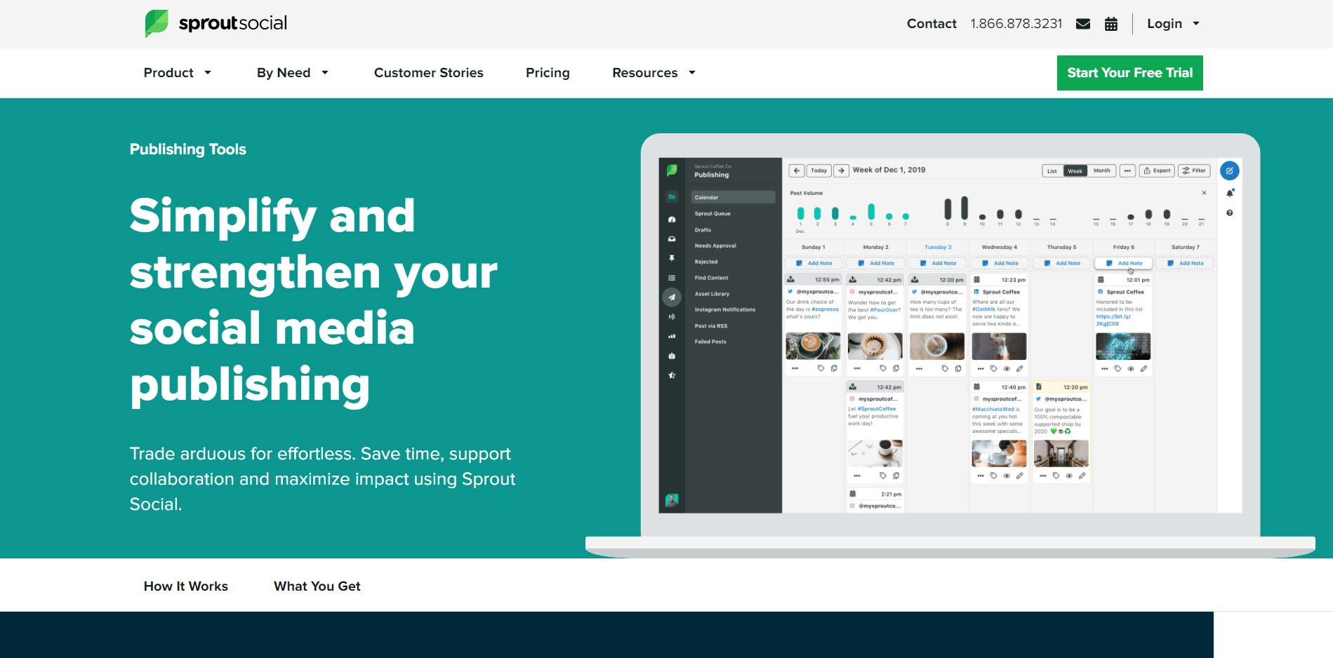 Social Media Management Tools for Various Platforms Sprout Social 1