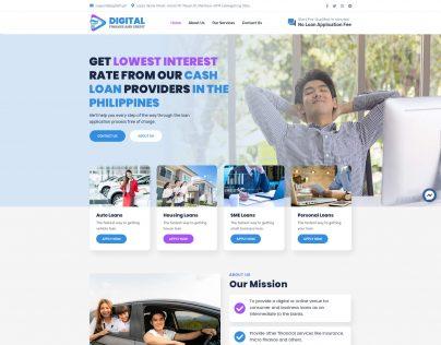 Digital Finance and Credit V1 1. Home