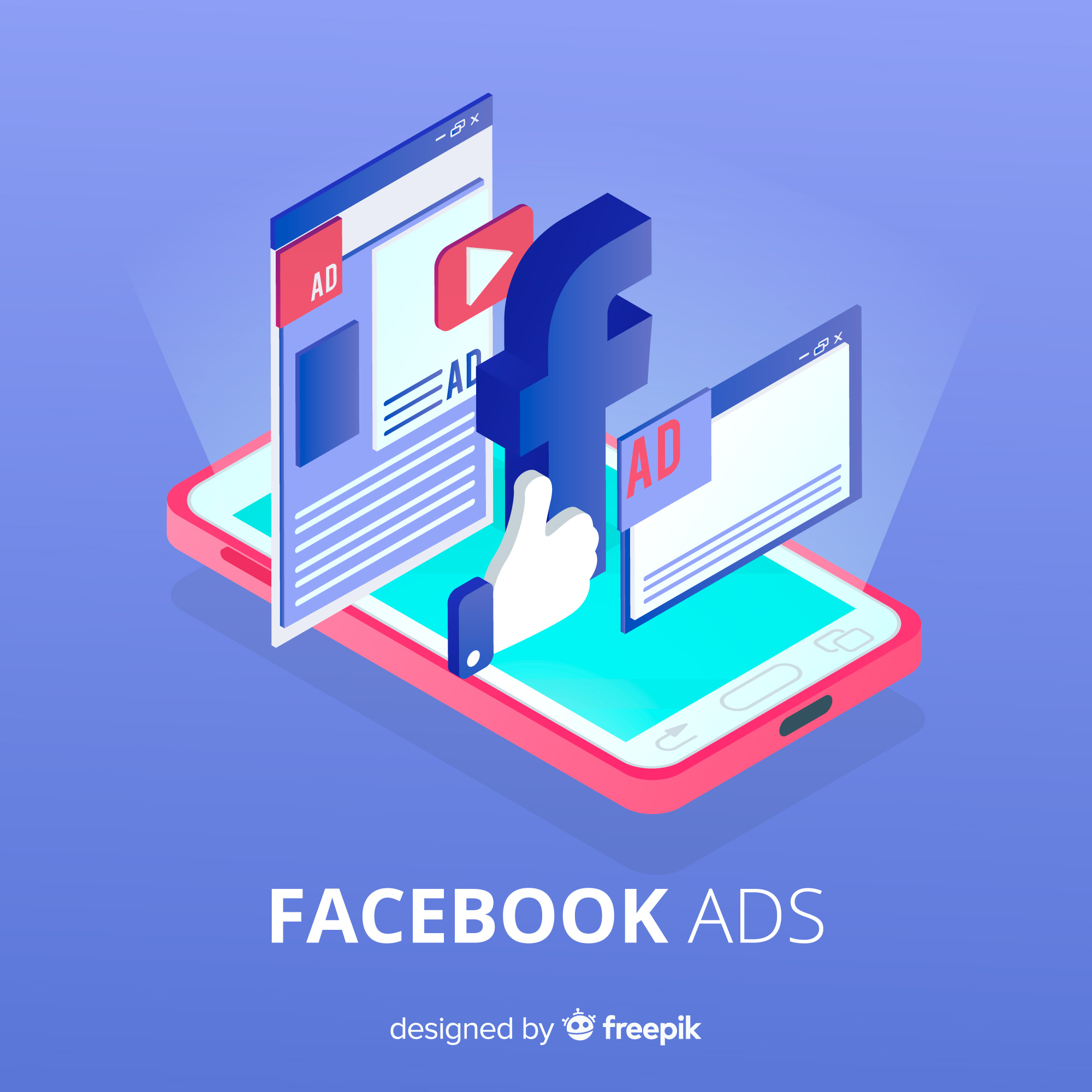 7 Quick Tips on How to Analyze Facebook Ads Smartphone Showing Facebook Ads Like Button