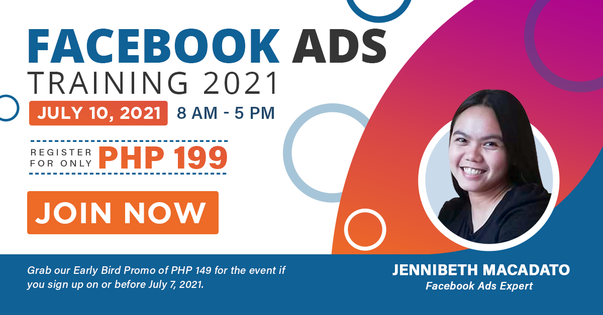 Facebook Advertising for Beginners with Jennibeth Macadato