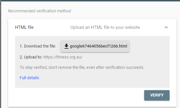 How to Improve SEO Using Google Search Console HTML Verification File