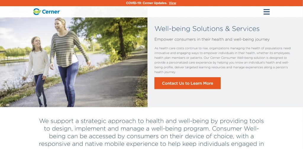 What Is Corporate Wellness Software Cerner