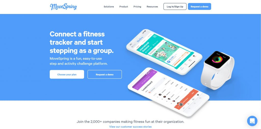 What Is Corporate Wellness Software MoveSpring