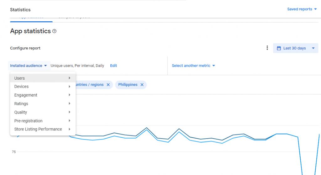 App Statistics Tab