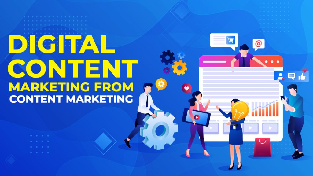 Digital Content Marketing from Content Marketing