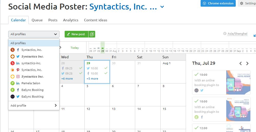 schedule, calendar