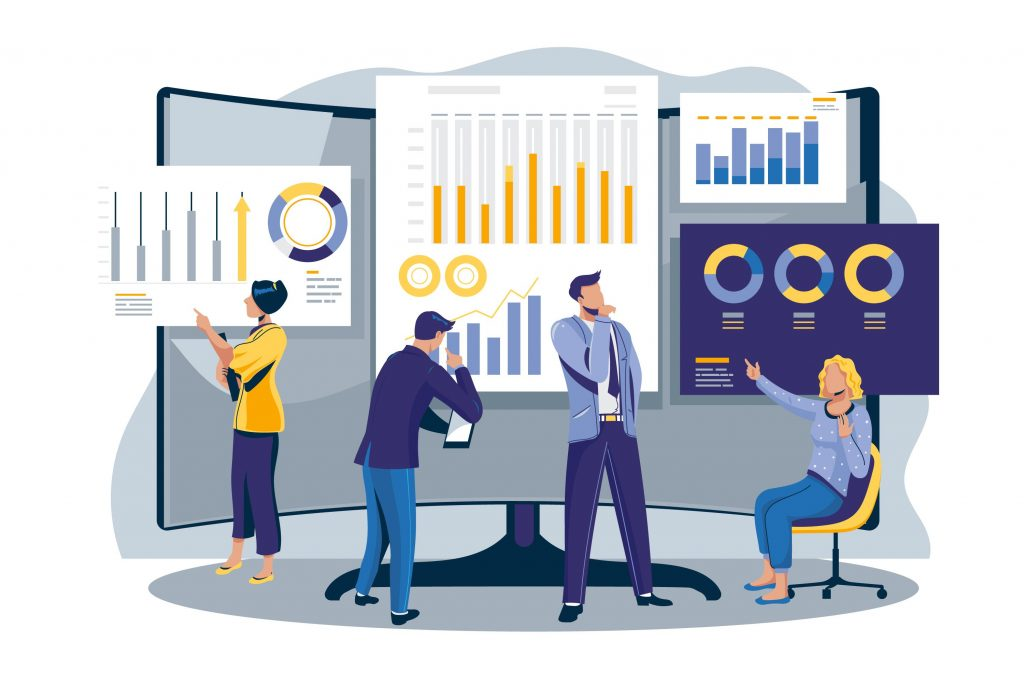 analyzing metrics and statistics