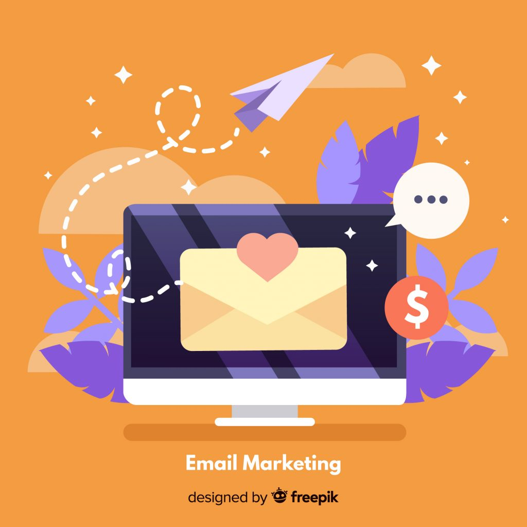 email marketing, sending email