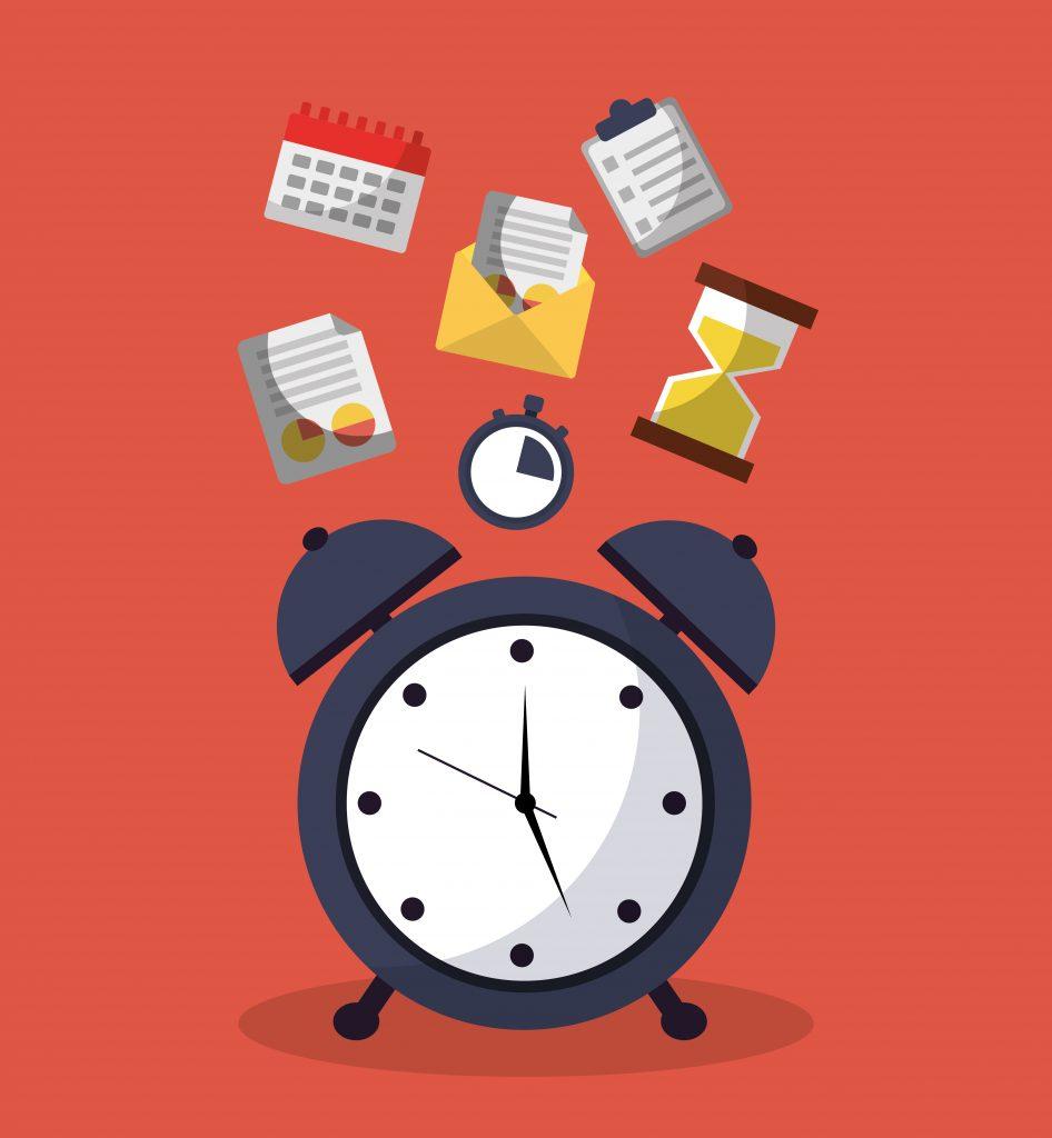Time Alarm Clock Service Message Calendar