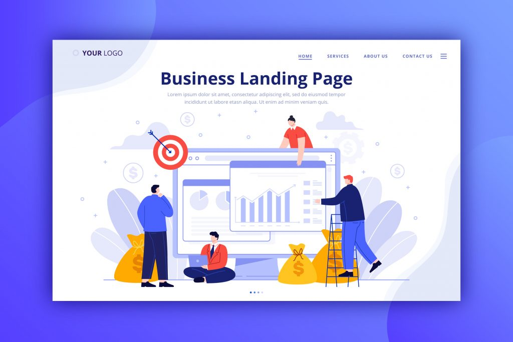 Essential Elements Of A High Converting Landing Page Business Landing Page
