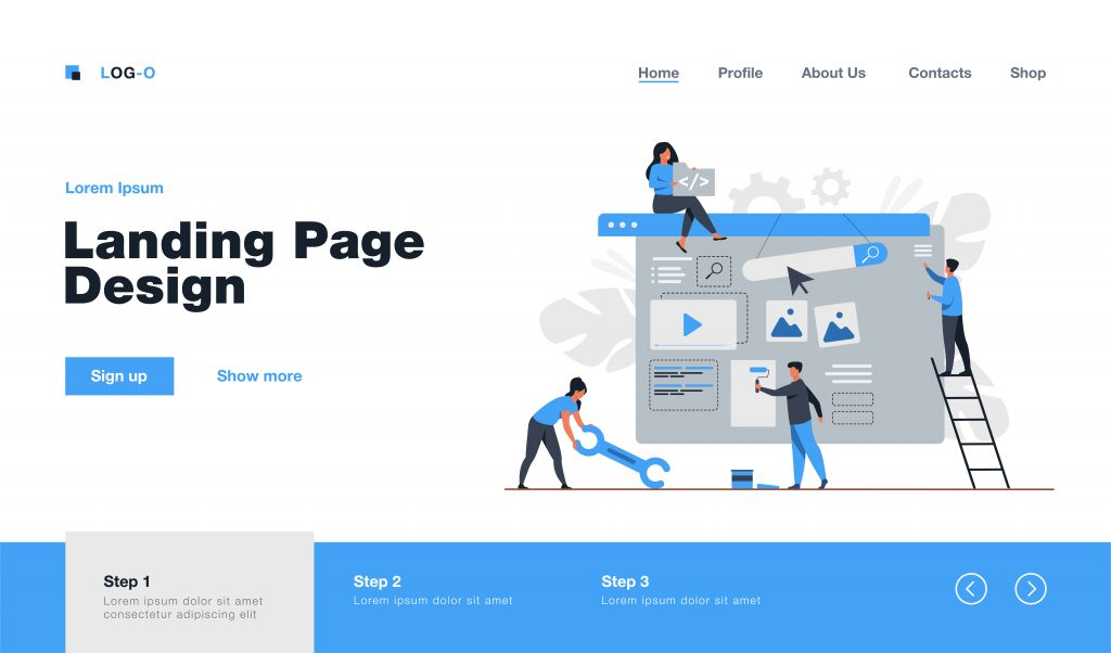 Essential Elements of a High-Converting Landing Page Landing Page Web Designers