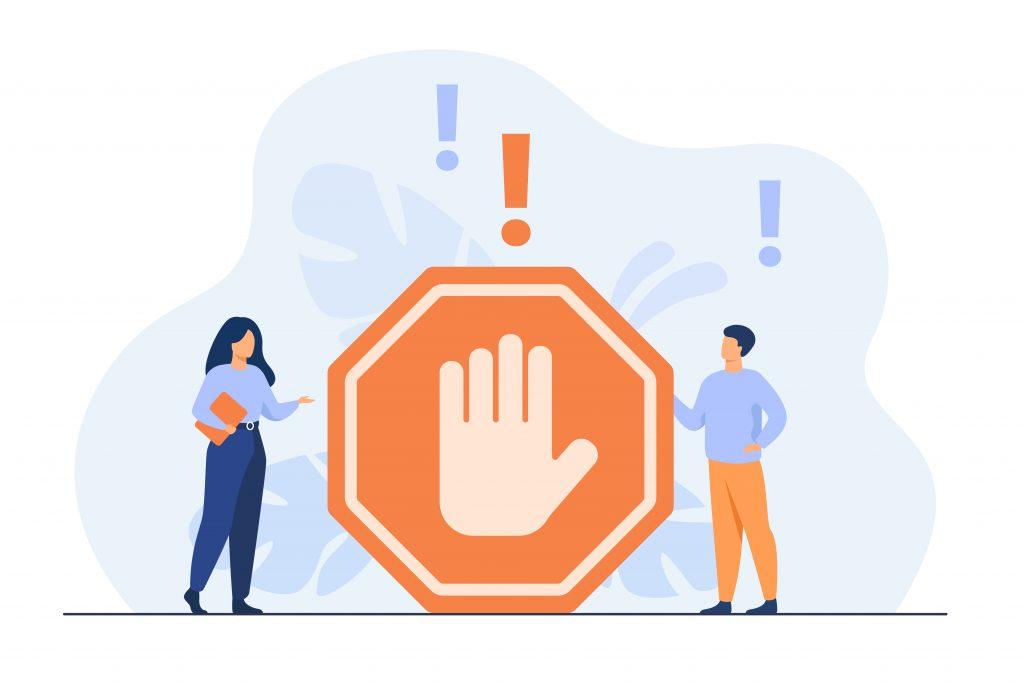 Google Strike-Based System for Ads Policies Violators Stop Icon