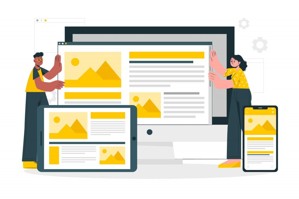 Steps On How To Build A Responsive Website Web Developers Building Responsive Website