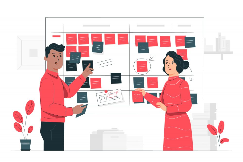 Why Outsource A Dedicated Project Manager Project Managers And Scrum Board