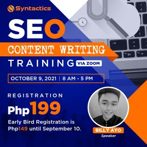 SEO Content Writing Featured Image