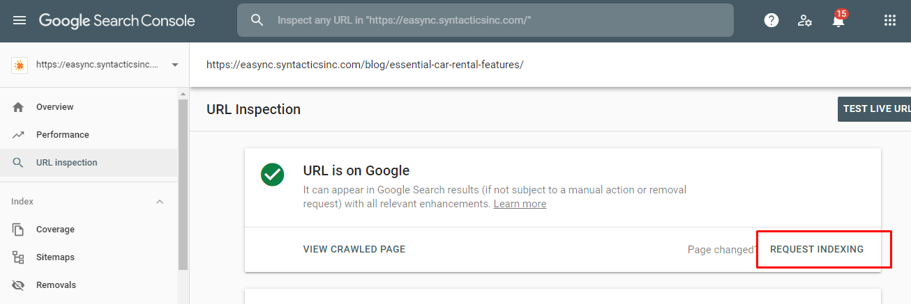 removing outdated content with Google