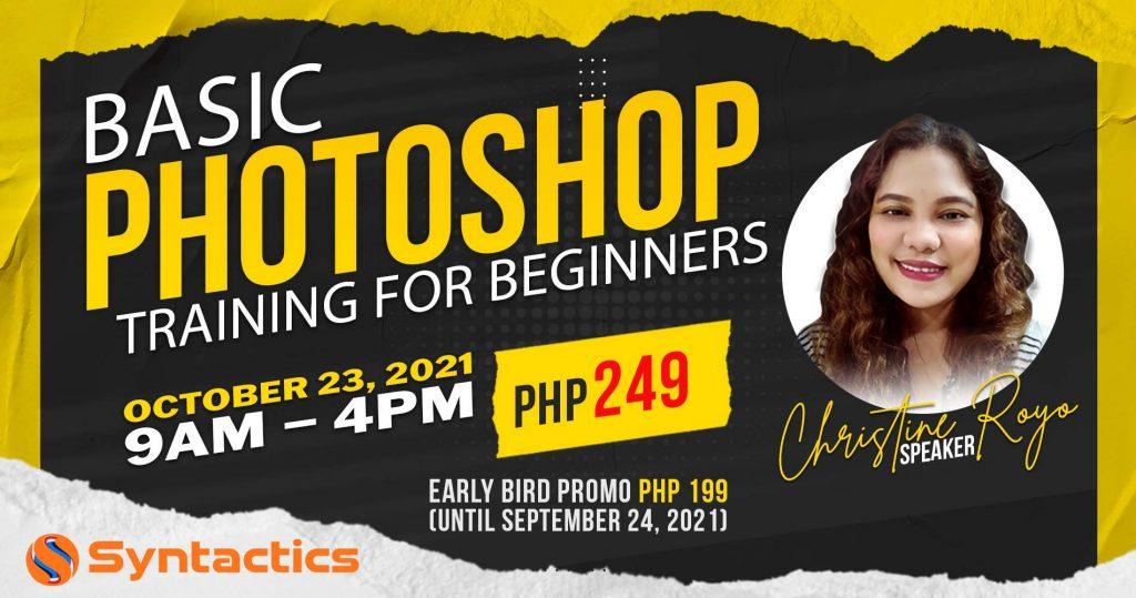 Basic Photoshop Training for Beginners